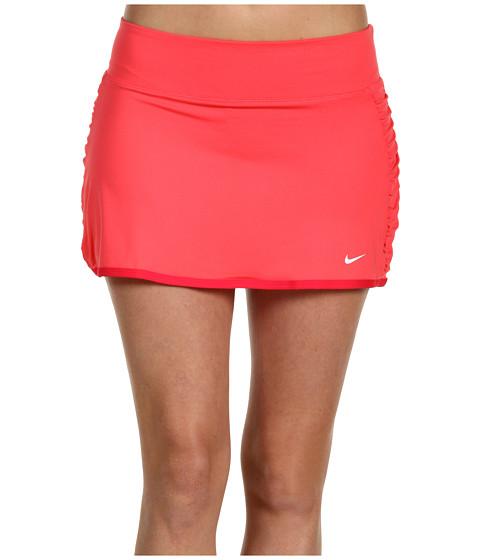 Fuste Nike - Tie Breaker Knit Skort - Fruit Punch/Scarlet Fire/White