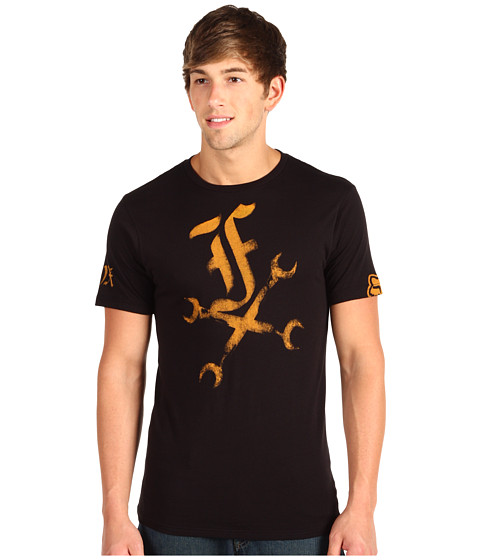 Tricouri Fox - Wrenched S/S Premium Tee - Black