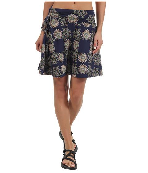Fuste Patagonia - Lithia Skirt - Kerchief Print/Classic Navy