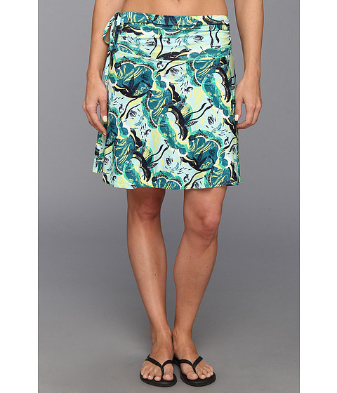 Fuste Patagonia - Lithia Convertible Skirt - Deep Sea Skirt/Desert Turquoise