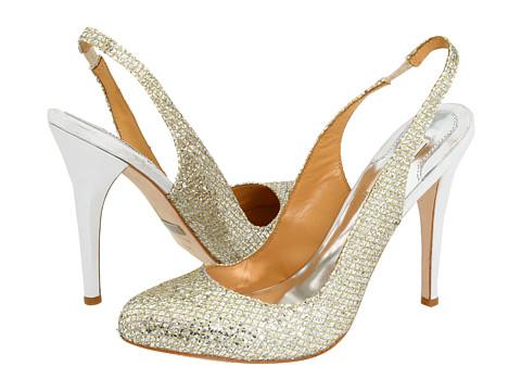 Pantofi Badgley Mischka - Kiss Kiss - Gold Glitter