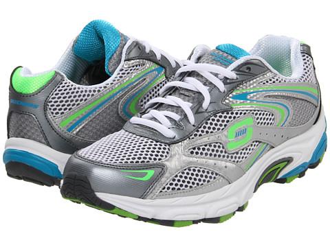 Adidasi SKECHERS - Interval - Legit - Silver/Lime