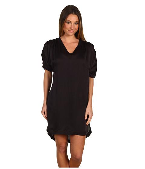 Rochii Diesel - Silk Bubble Sleeve Dress - Black