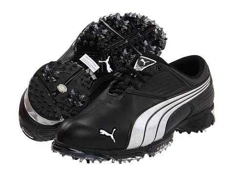 Adidasi PUMA - Spark Sport - Black/White/Cyber Yellow