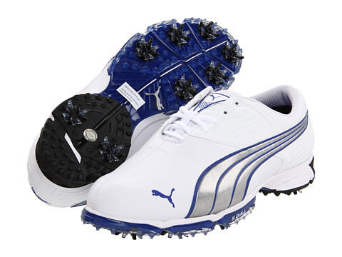 Adidasi PUMA - Spark Sport - White/Puma Silver/Surf The Web