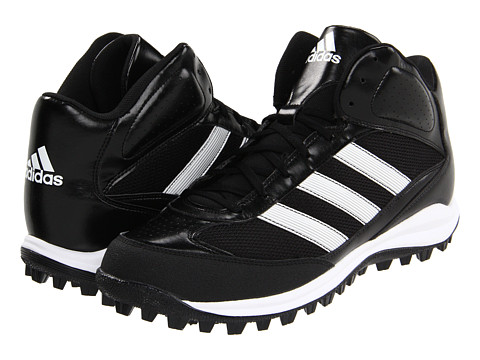 Adidasi adidas - Turf Hog LX Mid - Black/Running White/Metallic Silver