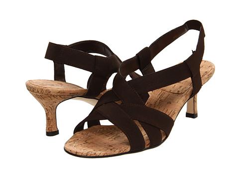 Sandale Vaneli - Matrena - Brown Elastic/Natural Cork