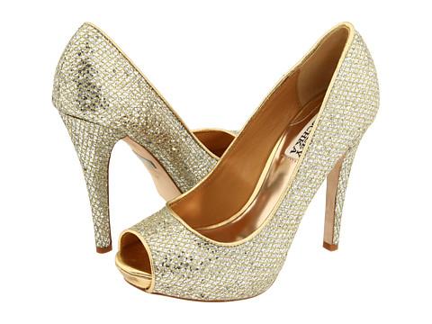 Pantofi Badgley Mischka - Humbie II - Gold Glitter