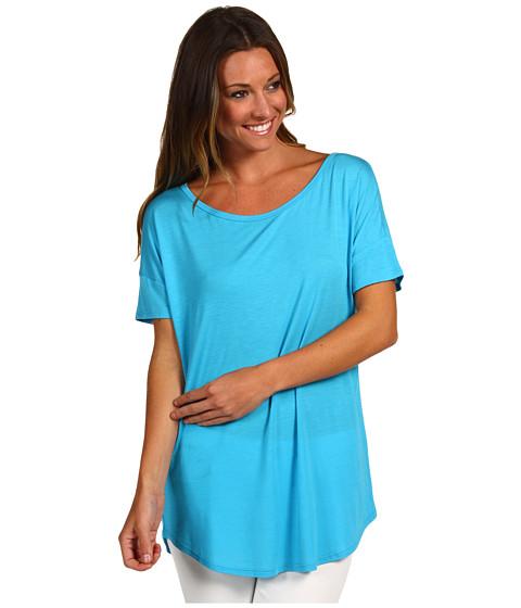 Tricouri Christin Michaels - Essie Modal Top - Turquoise
