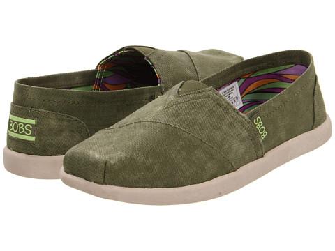 Adidasi SKECHERS - Bobs World - Spectrum - Olive