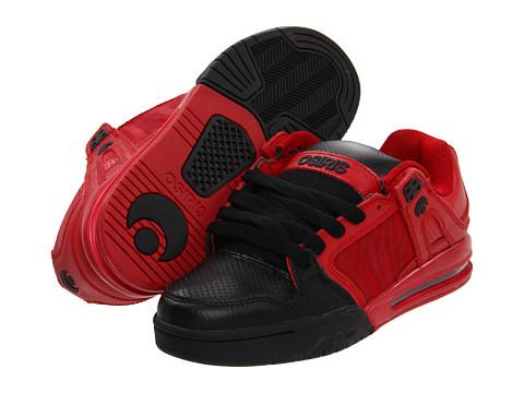 Adidasi Osiris - Pixel - Red/Black/Dip