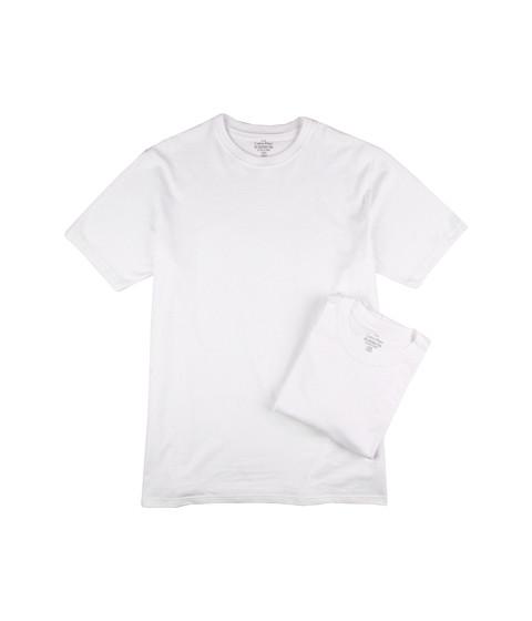Tricouri Calvin Klein - Big & Tall Basic Crew 2-Pack - White