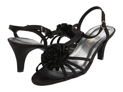 Pantofi Annie - Angelina - Black Satin