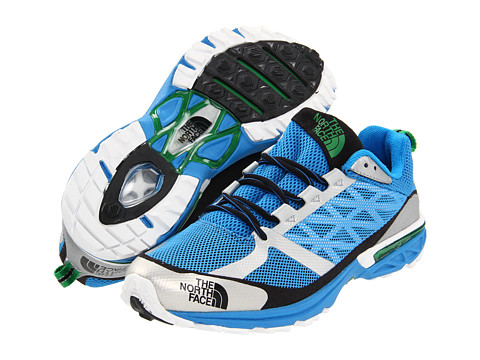 Adidasi The North Face - Single-Track Hayasa - Ace Blue/Triumph Green