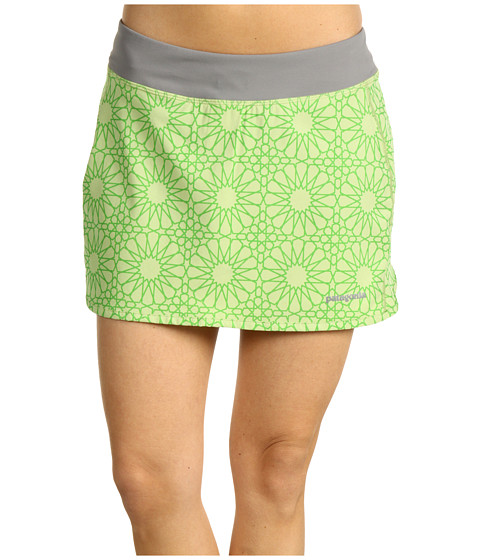 Fuste Patagonia - Nine Trails Skirt - Moroccan Stars/Endive