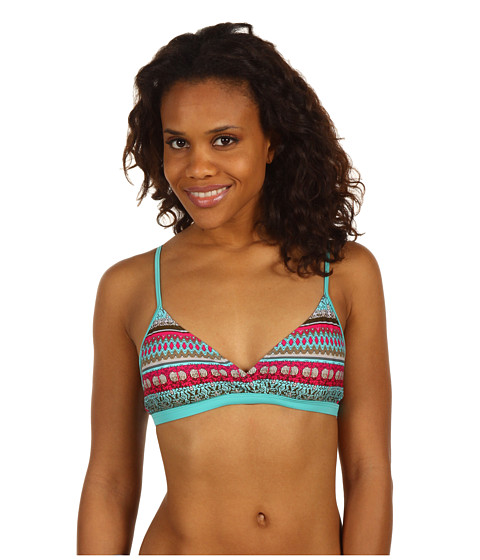 Costume de baie Patagonia - Print Kupala Top - Babylon/Flash Pink