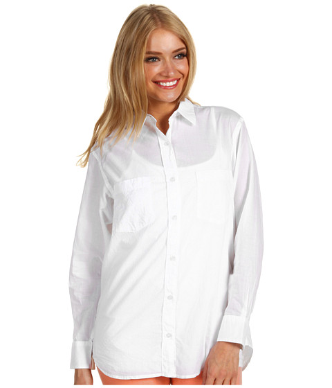 Camasi French Connection - Come Here Button Up - White