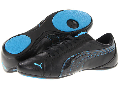 Adidasi PUMA - Janine Dance Wn\s - Black/Desden Blue