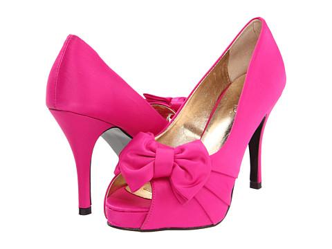 Pantofi rsvp - Perfect - Fuchsia Satin