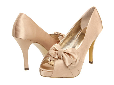 Pantofi rsvp - Perfect - Gold Satin