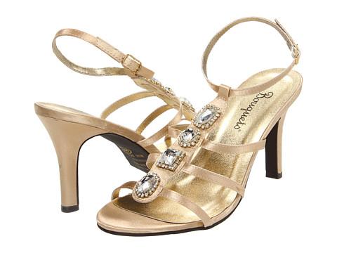Sandale Bouquets - Galle - Gold Satin