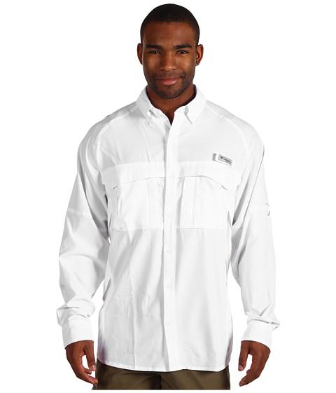 "Camasi Columbia - Airgill Liteâ""¢ L/S Shirt - White"
