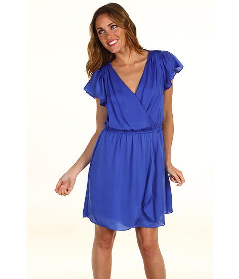 Rochii BCBGeneration - Flounce Front Dress - Lapis