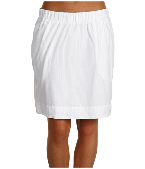 Fuste Columbia - Clear Coastsâ⢠Skirt - White/Corded Lawn