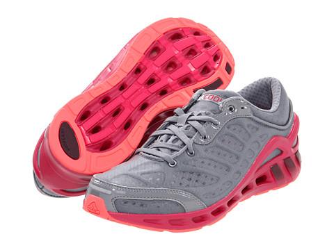 Adidasi Adidas Running - CLIMACOOLî Seduction W - Tech Grey/Dark Burgandy/Bright Pink