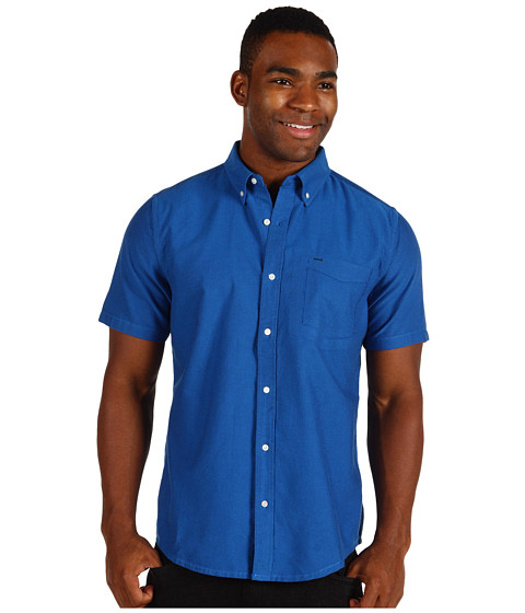 Camasi Hurley - Ace Oxford S/S Woven Shirt - Legacy Navy