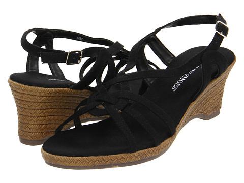 Sandale Annie - Connie - Black Linen