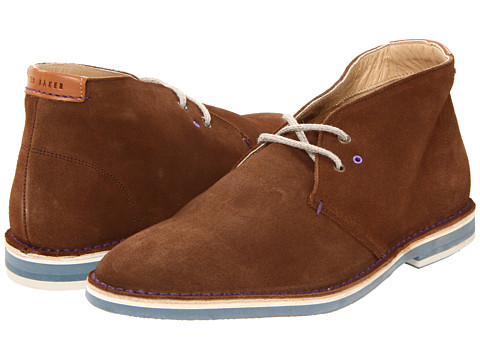 Pantofi Ted Baker - Tullik 3 - Brown Suede