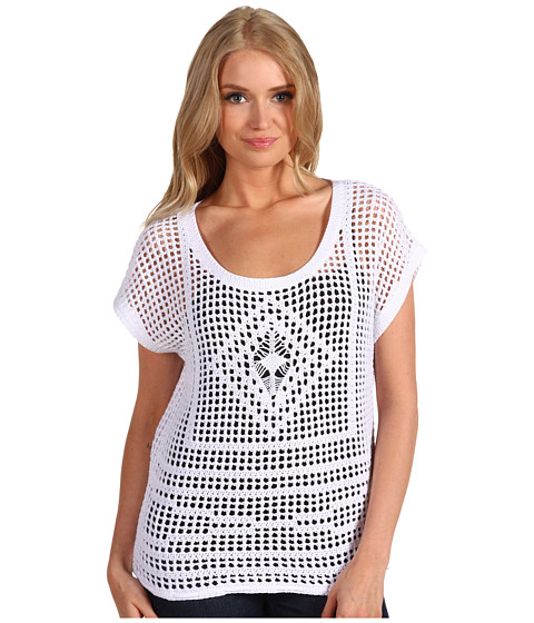Tricouri Roxy - Cruiser Crochet Sweater - Sea Salt Pattern