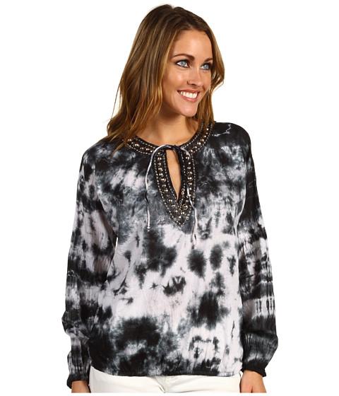 Bluze Michael Kors - Embellished Top w/ Drape - Black