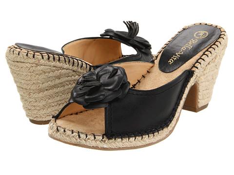 Sandale Bella-Vita - Hammock - Black Leather