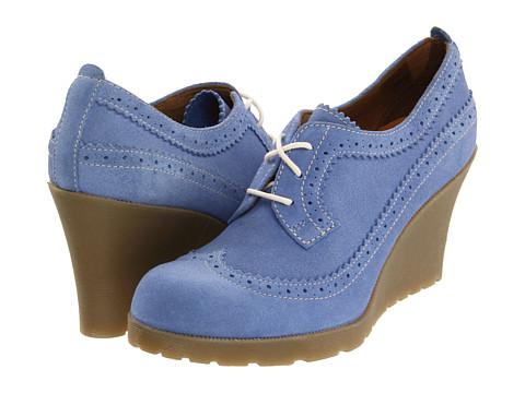 Pantofi Dr. Martens - Sita 3-Tie Brogue Shoe - Ceramic Blue
