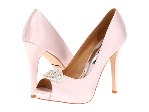 Pantofi Badgley Mischka - Goodie - Pink Satin