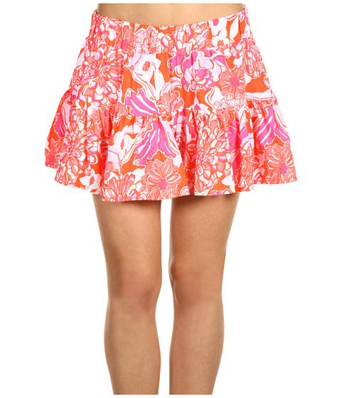 Fuste Lilly Pulitzer - Merrick Skirt - Tango Orange Tango and Hopper