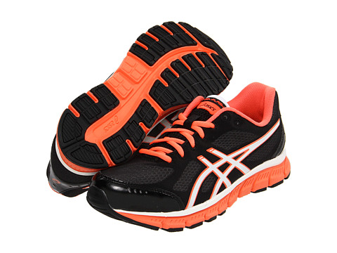 Adidasi ASICS - GEL-Flashî - Black/White/Neon Coral
