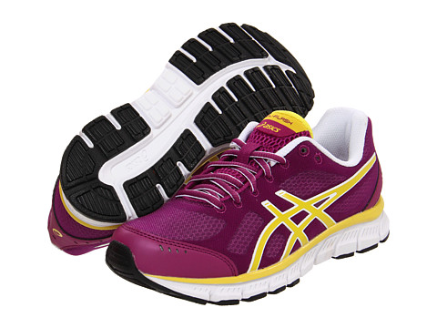 Adidasi ASICS - GEL-Flashî - Plum/New Yellow/Black