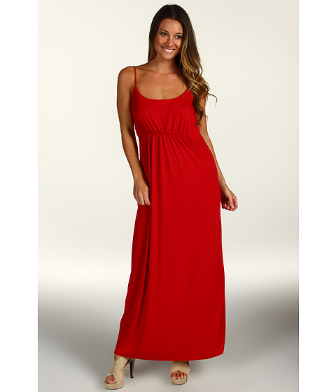 Rochii Christin Michaels - Plus Size Ronnie Maxi Dress - Red