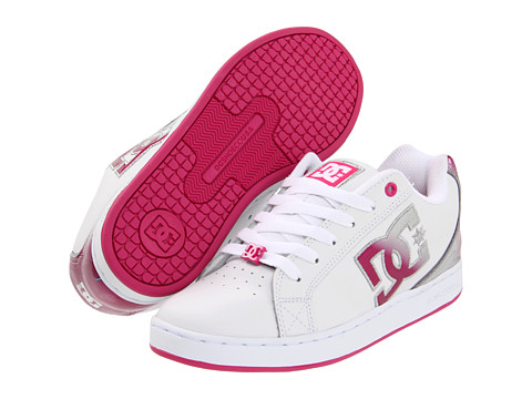 Adidasi DC - Cosmo SE W - White/Metallic Silver/Pink