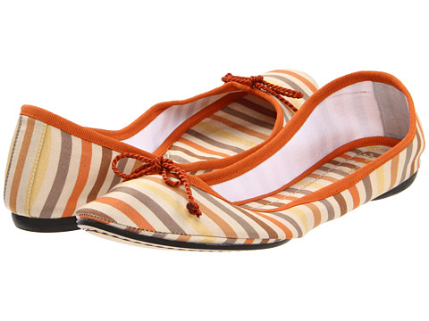 Balerini French Sole - Foxy - Beige Stripe
