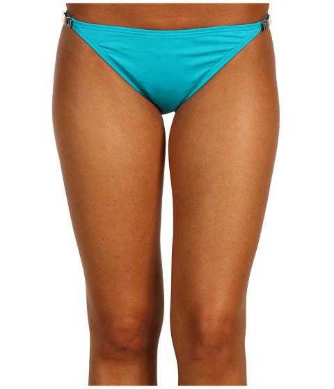 Costume de baie Michael Kors - South Hampton Solids Bikini Bottom - Tile Blue