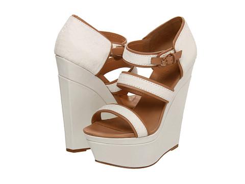 Pantofi L.A.M.B. - Inesa - White Bleach/Tan