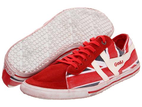 Adidasi Gola - Quota Union Jack - Red/Navy/White