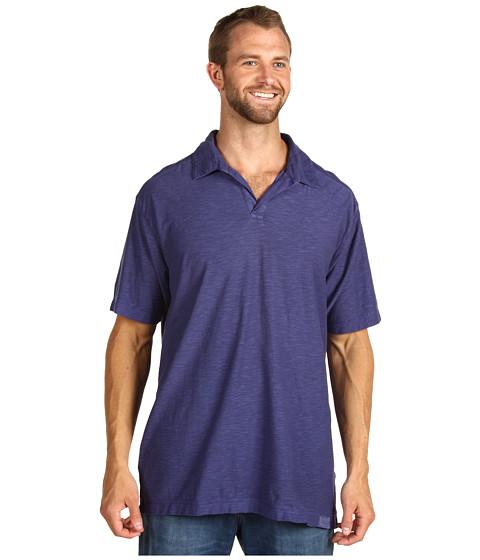 Tricouri Calvin Klein - Big & Tall S/S Slub Jersey Polo - Blue Ribbon