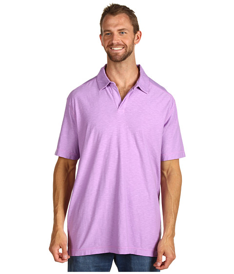 Tricouri Calvin Klein - Big & Tall S/S Slub Jersey Polo - Sticky Grape