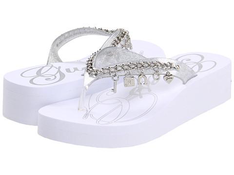 Sandale GUESS - Shaunta - Silver Metallic