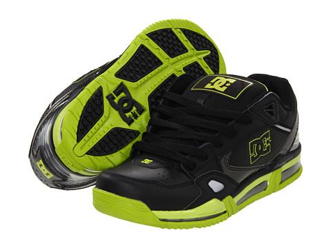 Adidasi DC - Versaflex MG - Black/Soft Lime